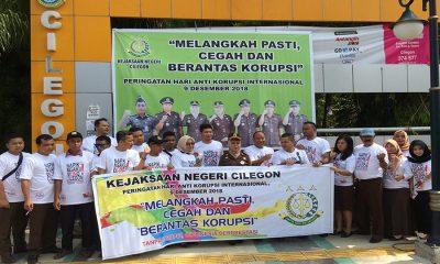 kejari cilegon peringati Hari Anti Korupsi Internasional