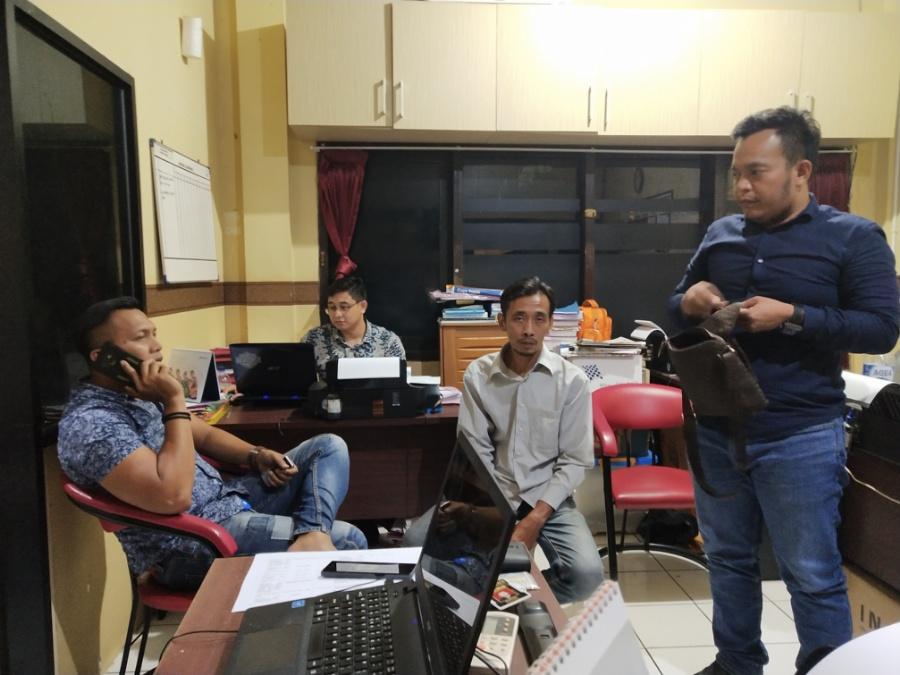 Peras ASN Dinas Pendidikan, Oknum Wartawan asal Bandung Ditangkap Satreskrim Polres Cilegon