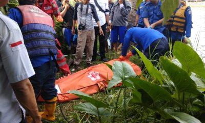 Penemuan mayat di Sungai Cisadane, belakang pabrik es Koang Jaya