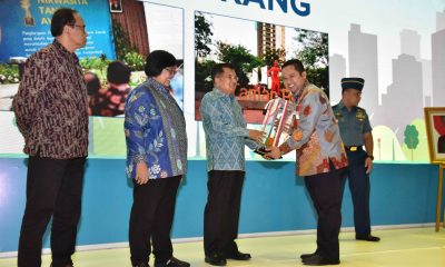 Kota Tangerang Boyong Tiga Penghargaan Bidang Lingkungan