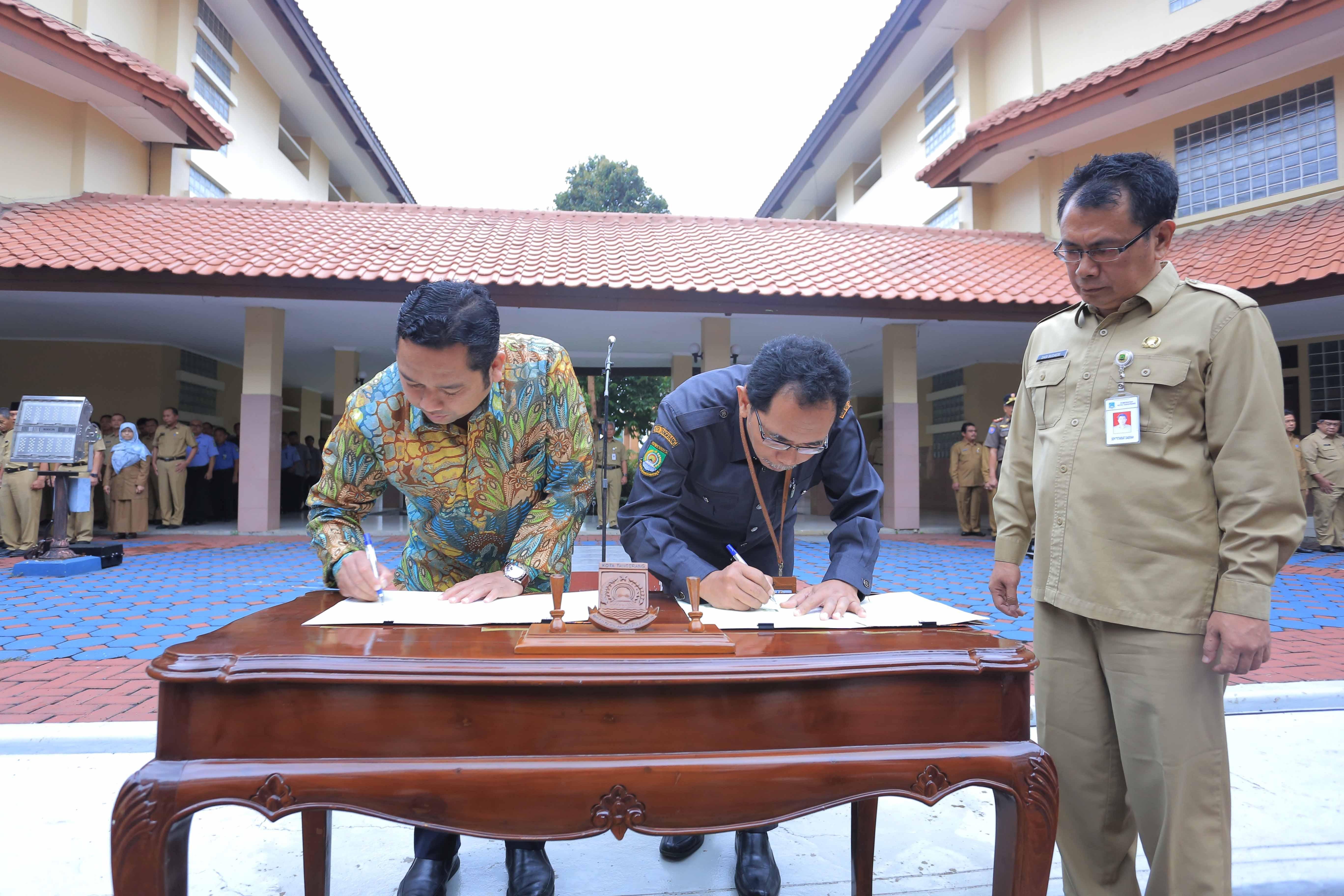 Ingin Program Pemkot Tangerang Tepat Sasaran, Arief Gandeng BPS