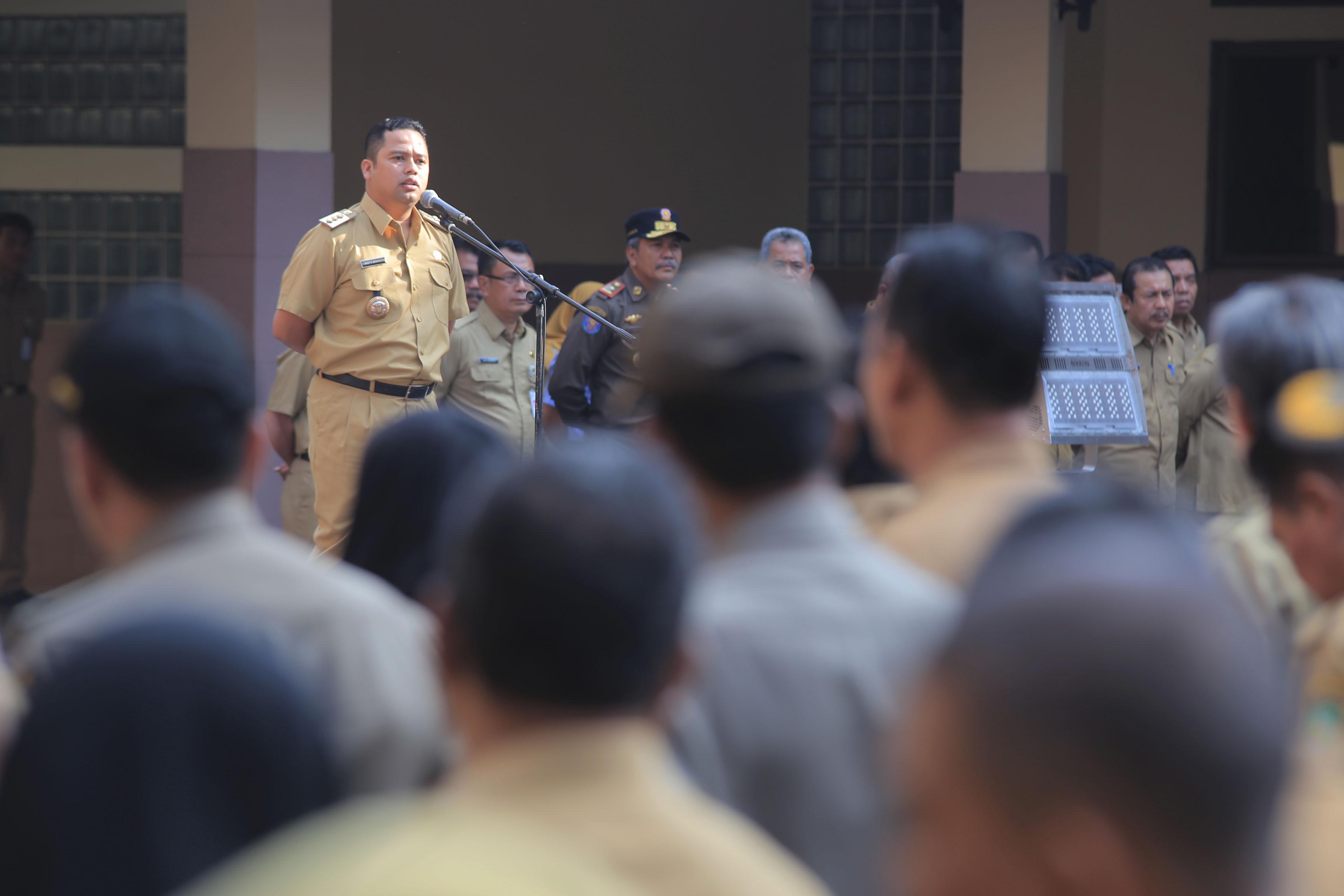 Pimpin Apel Pagi, Arief Bahas Revolusi Industri 4.0 hingga Sampah yang Masih Numpuk di Kantor Kecamatan