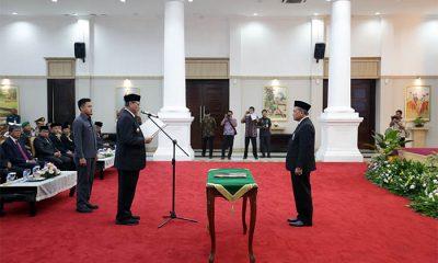Muhammad Masykur Dikukuhkan sebagai Kepala BPKP Provinsi Banten