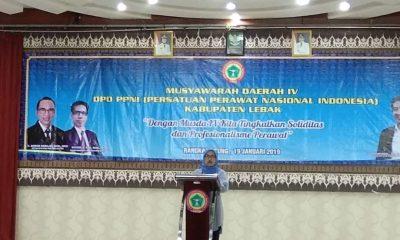 Iti Octavia Jayabaya Hadiri Musda IV PPNI Kabupaten Lebak
