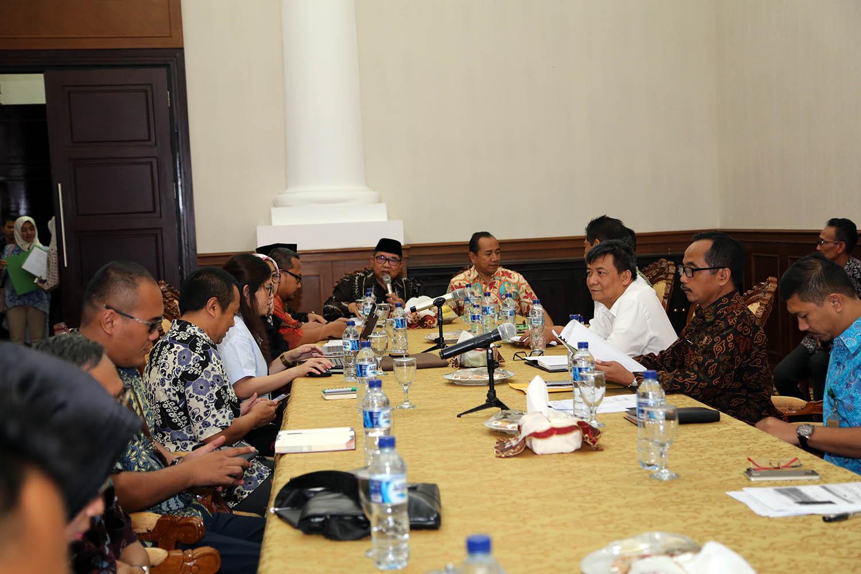 Rapat Penyusunan TPID Provinsi Banten Tahun 2019-2021