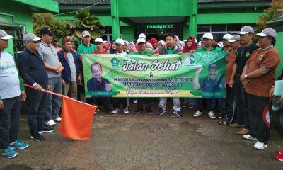 Ribuan Peserta Ikut Jalan Sehat Kemenag Kabupaten Lebak