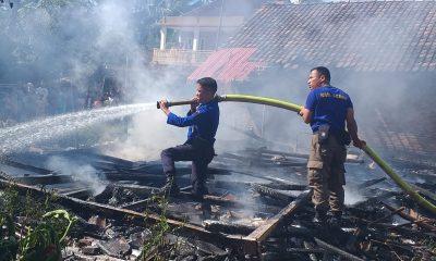 Tiga Rumah di Warunggunung Lebak Hangus Terbakar