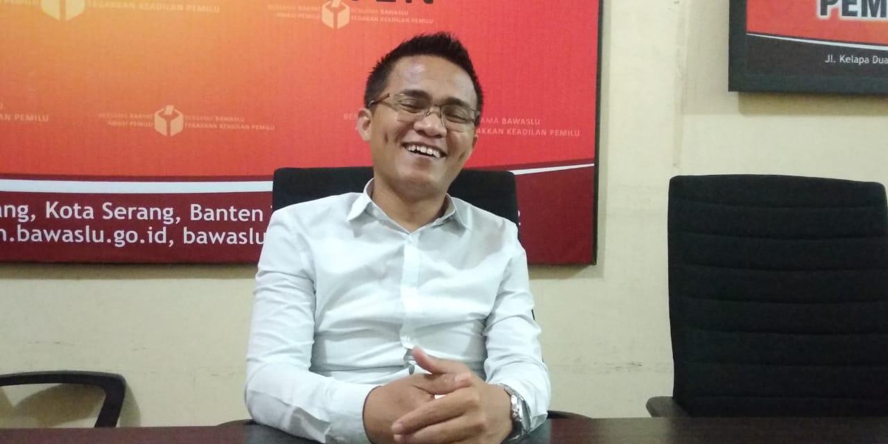 Koordinator Divisi Penindakan Pelanggaran Bawaslu Banten Badrul Munir