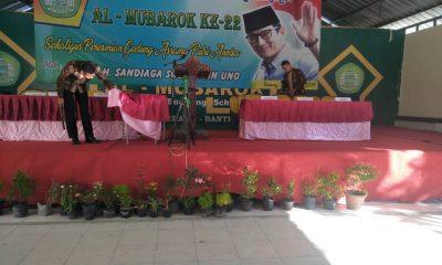 Sandiaga Uno Kunjungan ke Ponpes Al Mubarok Sumur Pecung, Sat Brimob Polda Banten Sterilkan Lokasi dengan Metal Detector