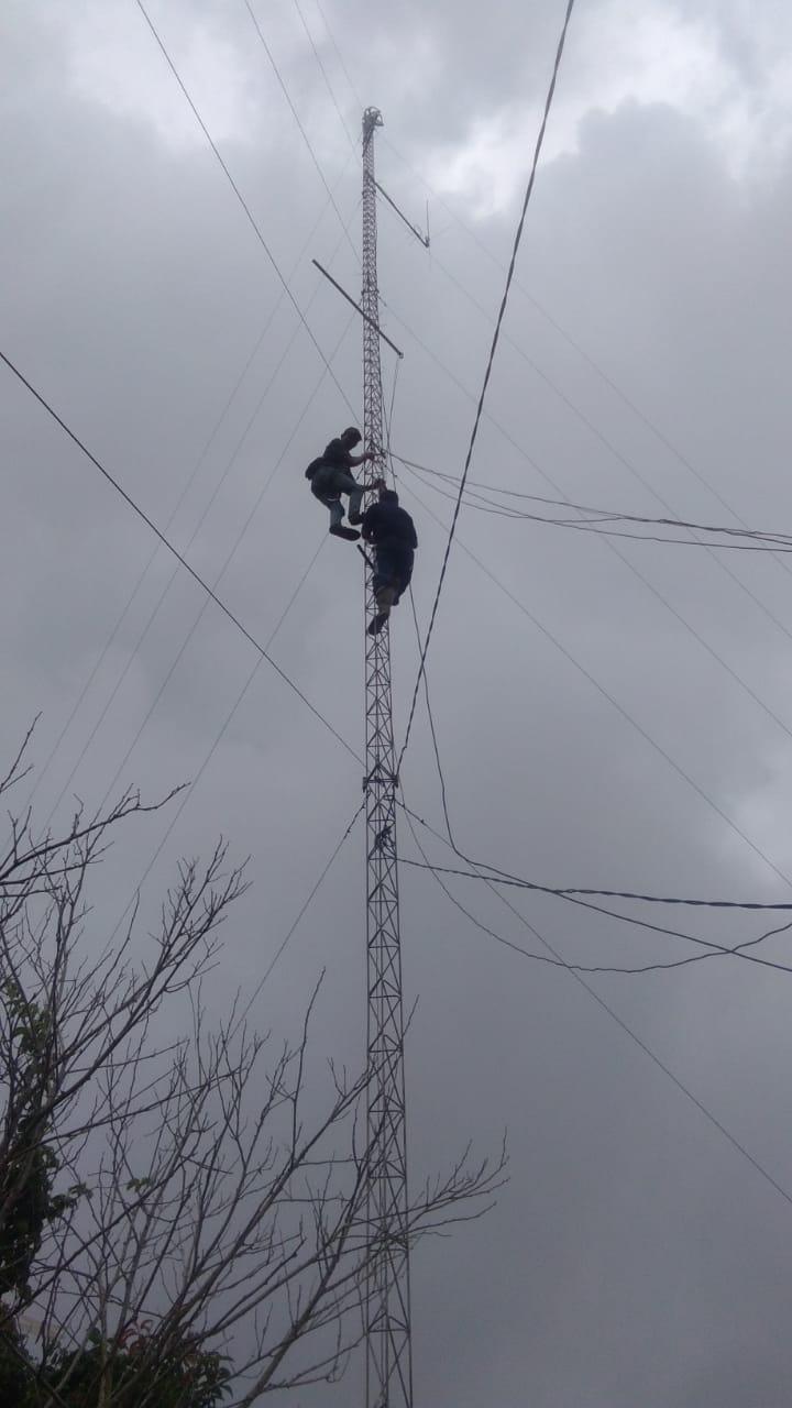 RAPI 3003 Lebak -Banten Optimalkan Fasilitas Radio Pancar ulang