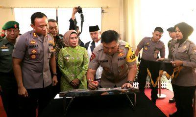 Kapolda Banten Resmikan Gedung Baru Polres Serang