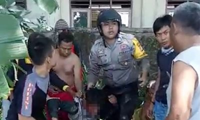 Selamatkan Motor Warga, Polisi Muda di Serang Bergumul dengan Dua Pelaku Curanmor di Sawah