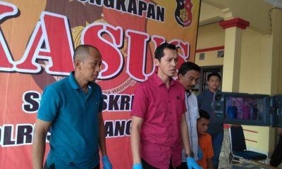 Satreskrim Polres Serang Kota saat Mereka Mengungkap Penemuan Mayat di TPU Banjar Agung