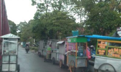 PKL yang Membandel Jualan di Alun-alun Rangkasbitung Digiring Satpol PP ke Rutan Rangkasbitung