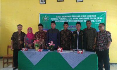 Rapatan kerja Kemenag Kabupaten Lebak