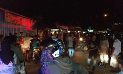 Toko sembako di Pasar Picung terbakar