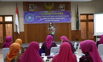 Ketua Tim Penggerak PKK Kabupaten Tangerang Yuli Zaki Iskandar