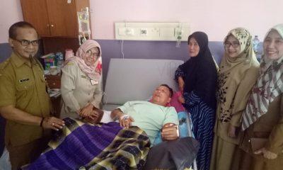 Asda I Pemkot Cilegon Taufiqurahman Husein jalani perawatan di RSUD Cilegon