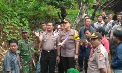 Kapolres Serang AKBP Indra Gunawan pantau perahu penyeberangan terbalik di Sungai Ciujung