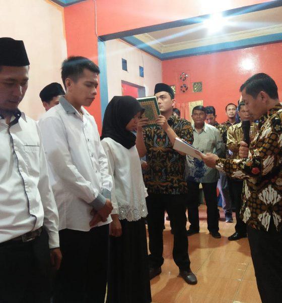 Bawaslu Kabupaten Pandeglang Lantik Panwaslu di Enam Desa