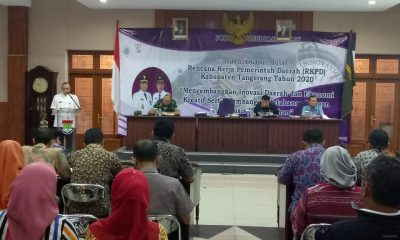 Bupati Tangerang Buka FKP Ranwal RKPD