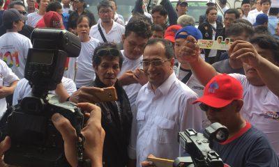 Menhub Budi Karya Sumadi Hadir di Deklarasi Sopir Angkot Tangerang Dukung Jokowi-Ma'ruf