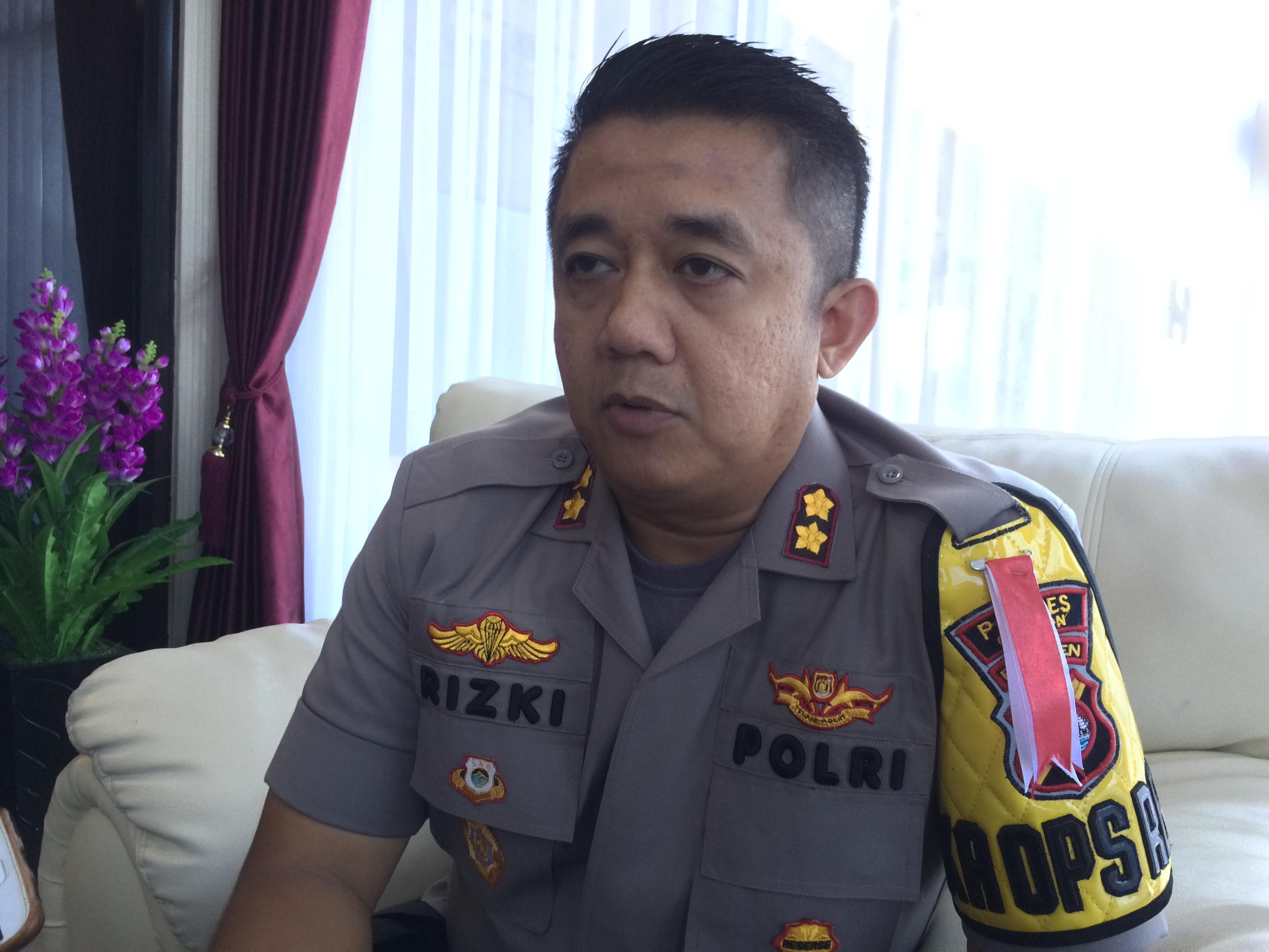 Kapolres Cilegon AKBP Rizki Agung Prakoso