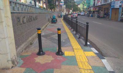 Sudah Rapi, Pedestrian Ciputat Timur Kini Ramah Pejalan Kaki