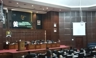 Paripurna Pembahasan Raperda PSU DPRD Kota Serang