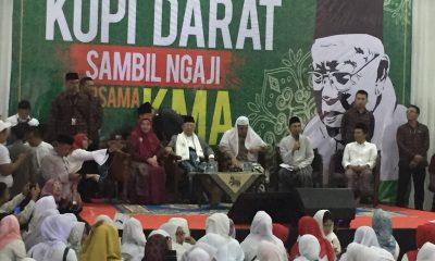 Kampanye Ma'ruf Amin di Gedung KNPI Tangerang