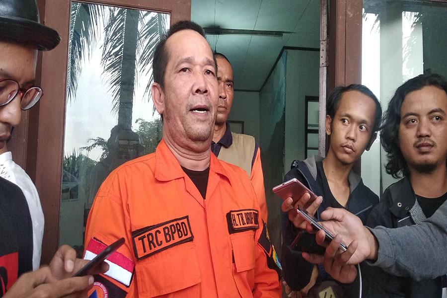 Kepala BPBD Kota Serang yang juga Sekda Kota Serang Urip Henus