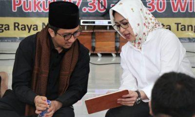 Airin Rachmi Diany hadiri pengajian Duha akbar bersama Ustaz Yusuf Mansyur