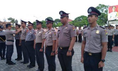 249 Anggota Polres Tangsel Naik Pangkat, 60 di Antaranya yang Berprestasi Diberi Penghargaan