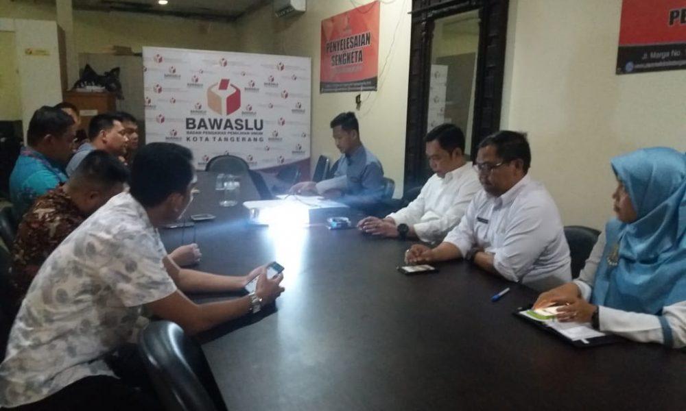Rakor Gakkumdu Bawaslu Kota Tangerang