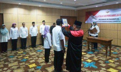 Perdana, Wali Kota Tangsel Lantik Pejabat Fungsional