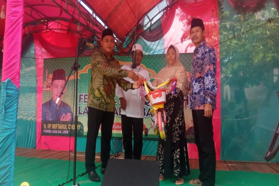 Lasqi Kabupaten Lebak gelar Festival Qasidah