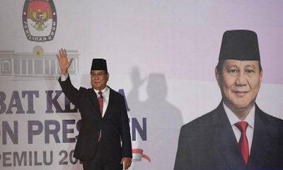 Prabowo saat Debat Capres Kedua