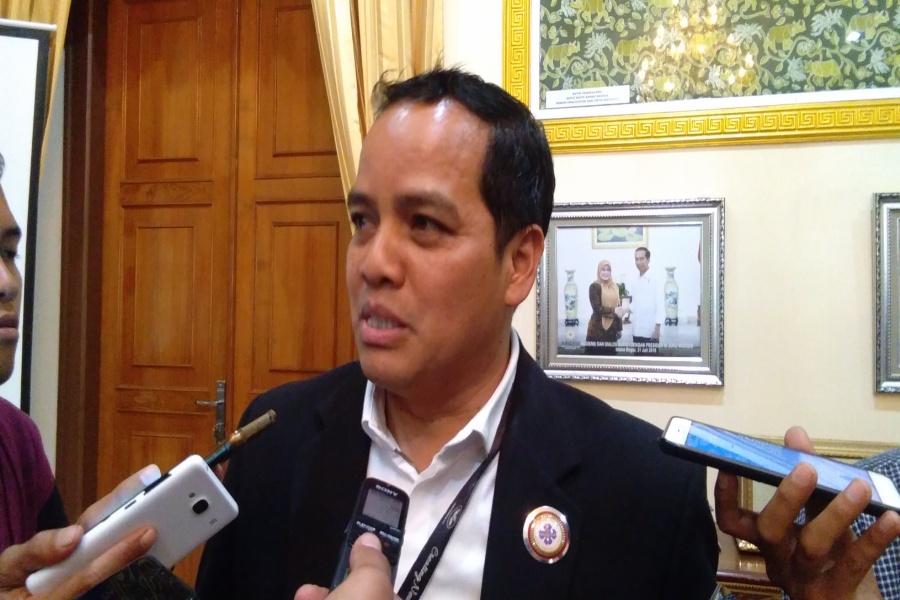 Ketua PHRI Pandeglang Widiasmanto,