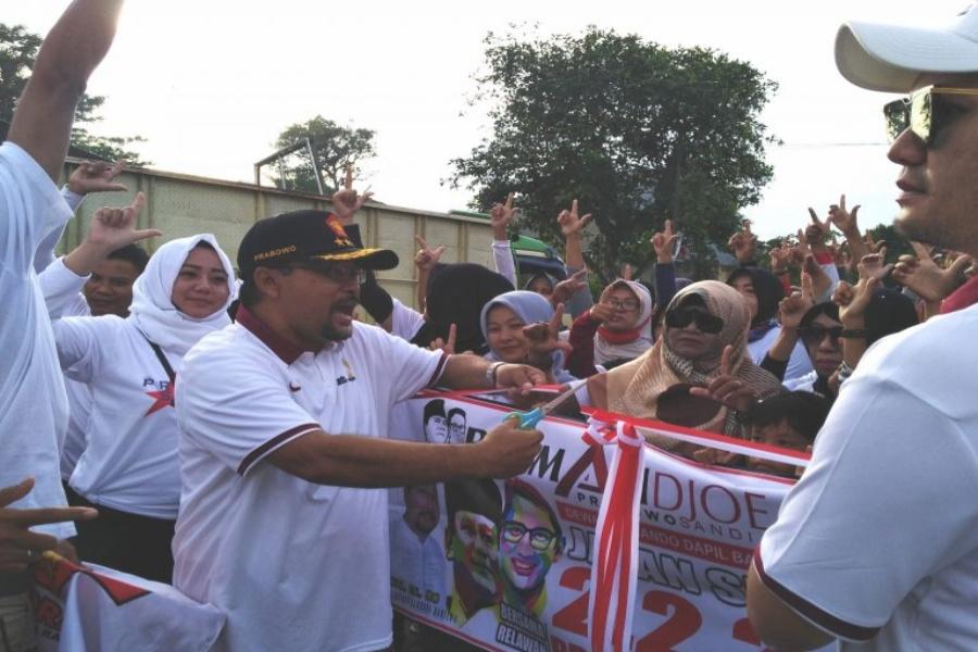 Gerak Jalan Relawan Roemah Djoeang Kabupaten Lebak