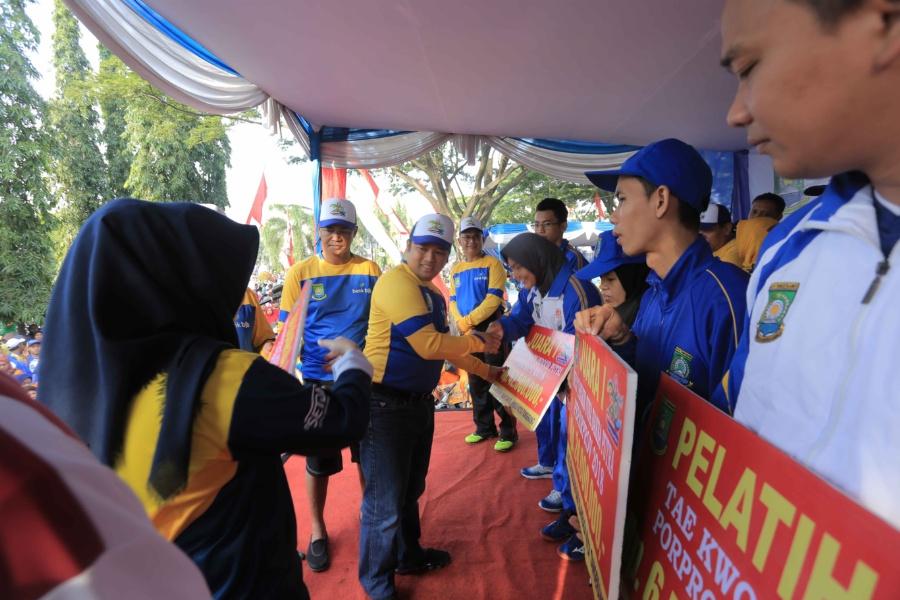 Insan olahraga di Kota Tangerang