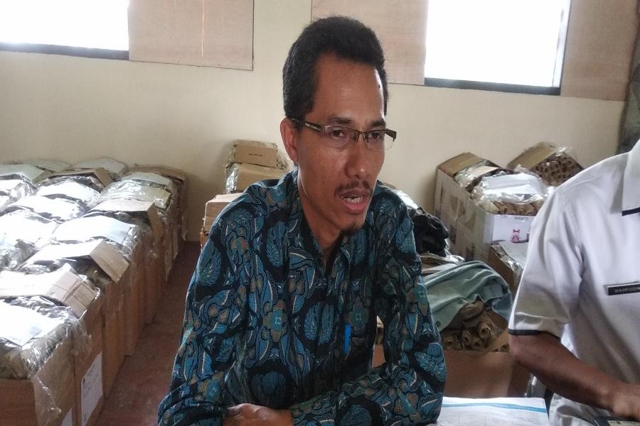 Ketua KPU Kota Serang Ade Jahran