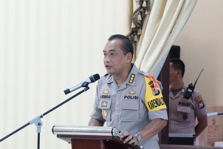 Karo Ops Polda Banten Kombes Pol Amiluddin Roemtaat