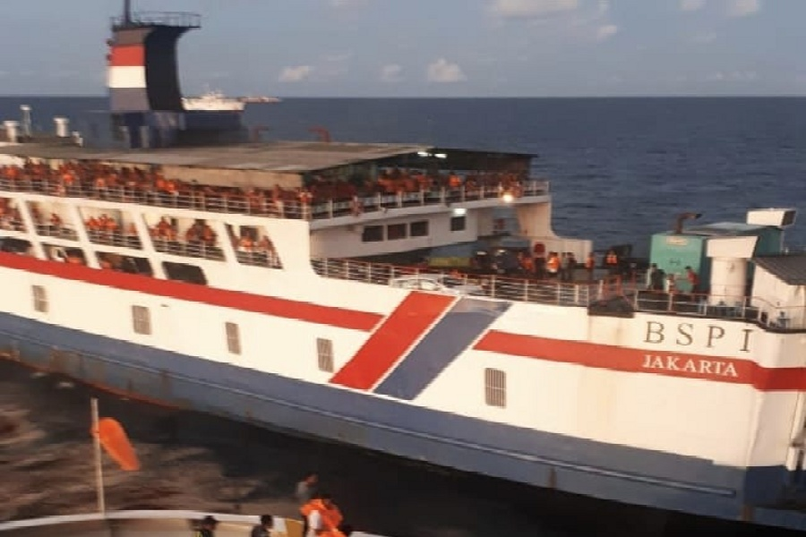Kapal Motor Penumpang atau KMP BSP I