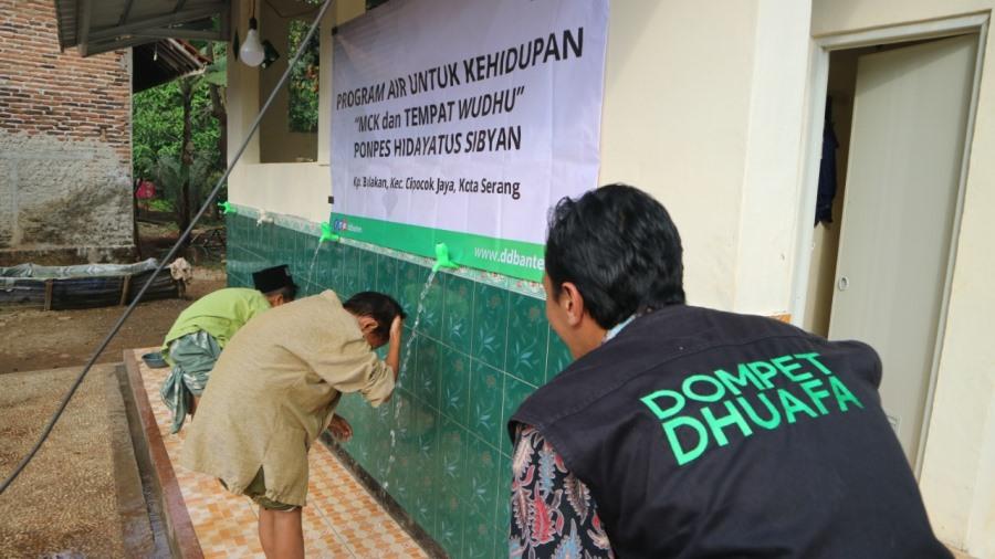 Dompet Dhuafa Banten bangun fasilitas air bersih dan sarana MCK