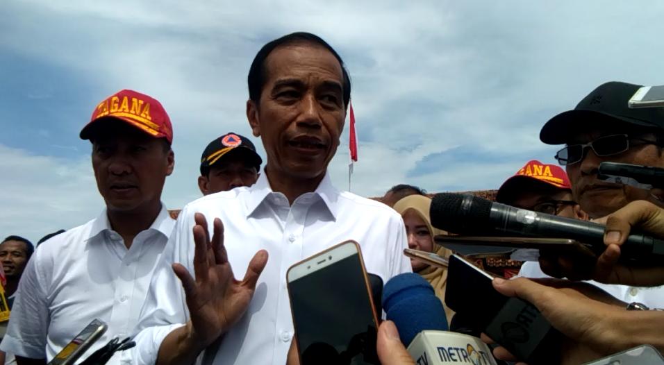 Jokowi di Pandeglang