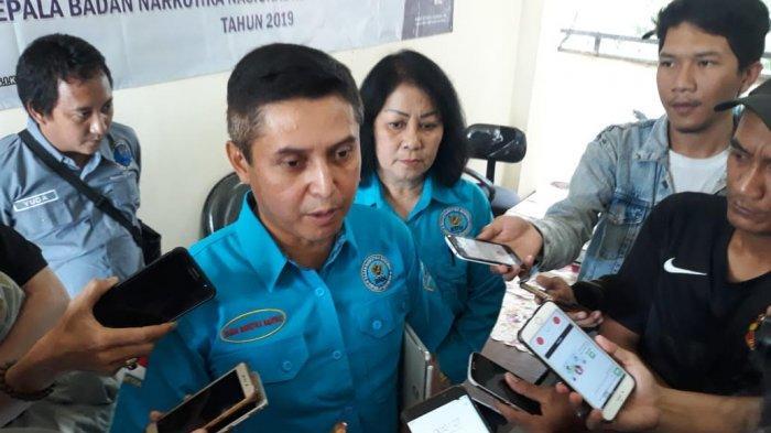 Kepala Badan Narkotika Nasional (BNN) Provinsi Banten, Brigjen Pol Tantan Sulistyana
