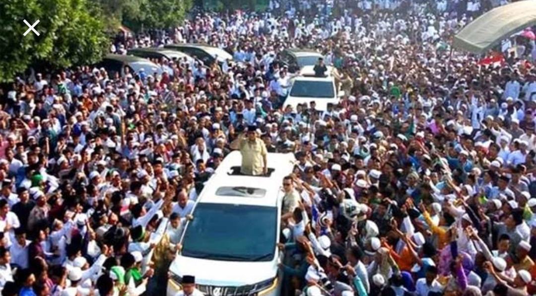 Kunjungan Prabowo di daerah