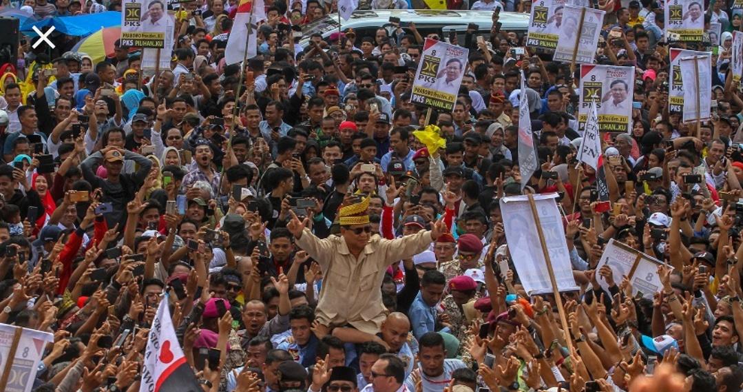Kunjungan Prabowo di Riau