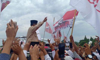 Prabowo di Banten