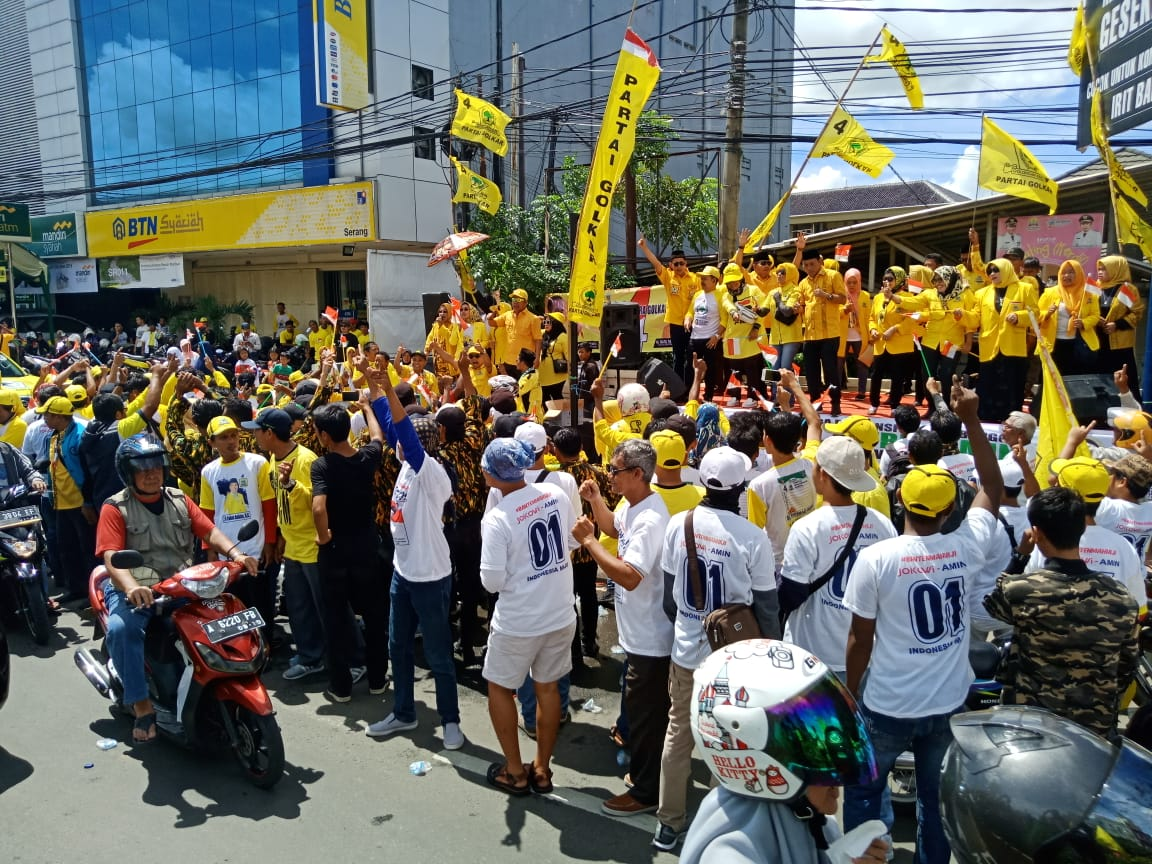 10 panggung musik disiapkan sepanjang pelintasan Jokowi-Ma'ruf di Serang